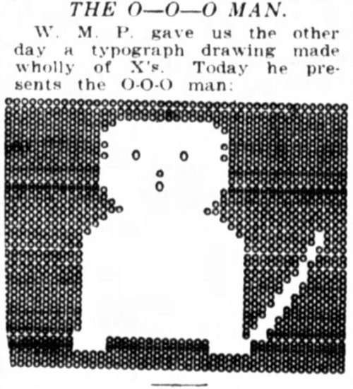"""""""The O-O-O Man"""" <br> Submitted to Washington Post in May 1922"""