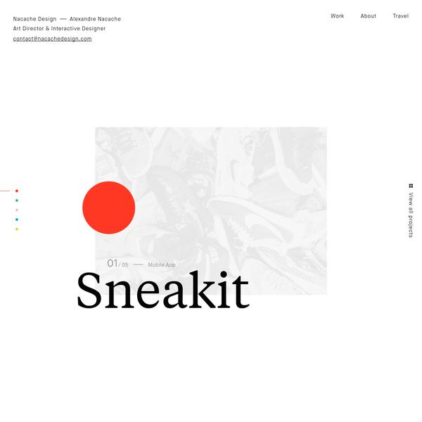 Nacache Design - Art Director & Interactive Designer