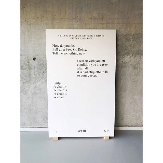 "87 Likes, 2 Comments - DRAWSWORDS Studio (@drawswords) on Instagram: ""#designingthesurface at #hetnieuweinstituut in #rotterdam. #ok_rm #koehorstintveld #chriskabel..."""