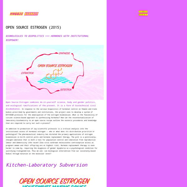 Open Source Estrogen (2015) - M.A.G.G.I.C.