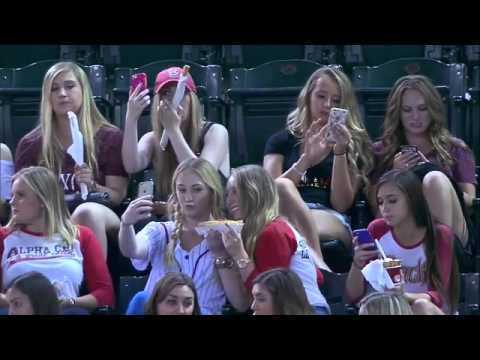 [Uncut] ASU sorority sisters taking selfies during Diamondbacks game