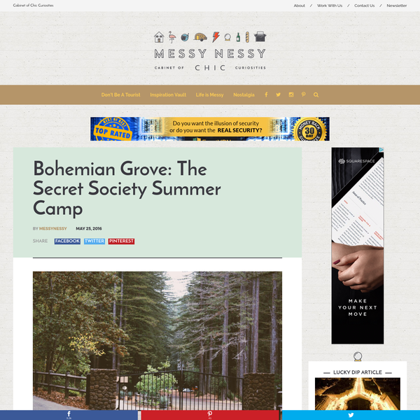 I just spent the morning finding out everything I can on the Bohemian Grove. For two weeks every summer, the 2,700 acre secured private camp in the Ancient Redwood Forest of Northern California, plays host to some of the most powerful men in the world. Every republican U.S.