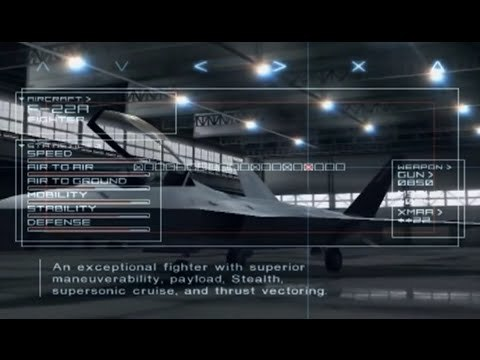 """""""The Hangar"""" - Ace Combat 04 OST (Extended)"""
