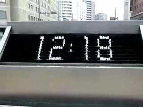 Kanazawa Station Fountain Clock