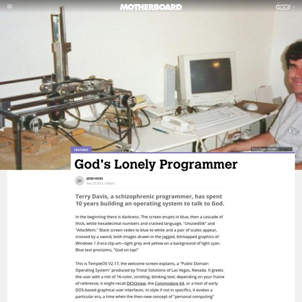 God's Lonely Programmer