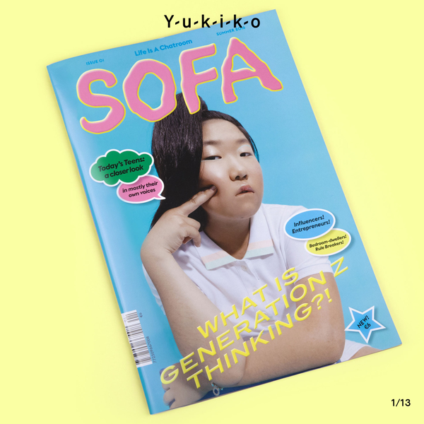 YUKIKO are a creative duo from Berlin. Michelle Phillips and Johannes Conrad specialise in graphic design, creative direction and art direction for print, photography and video.