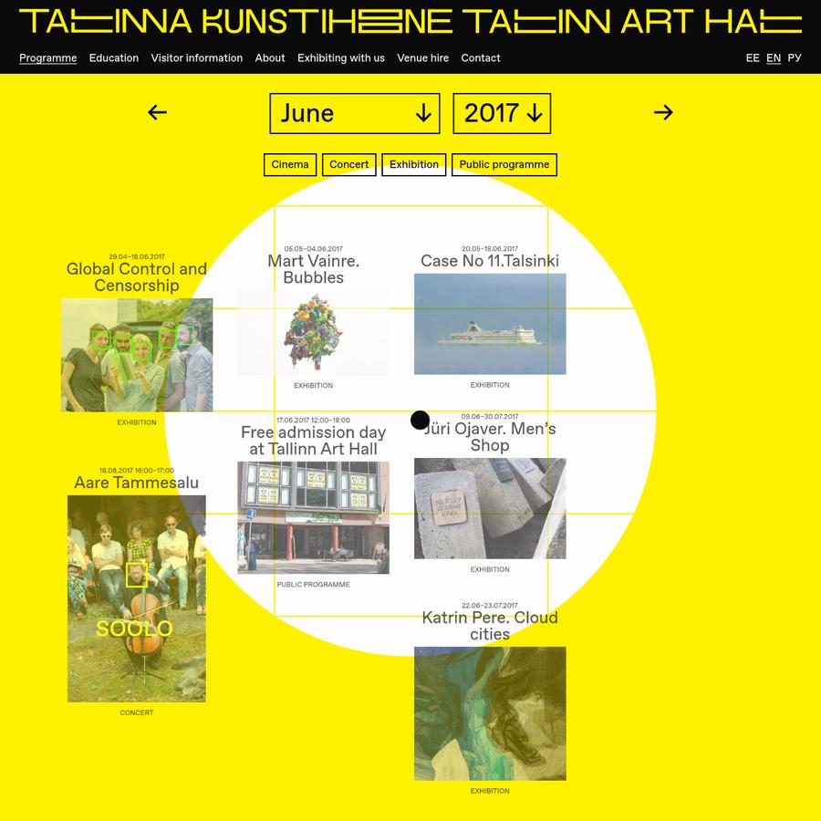 SA Tallinna Kunstihoone on 1934. aastast tegutsev kaasaegse kunsti asutus, mille näituseprogrammi näeb kolmes galeriis Tallinna keskväljakul - Tallinna Kunstihoones ning seal samas lähedal asuvates Linnagaleriis ja Kunstihoone galeriis