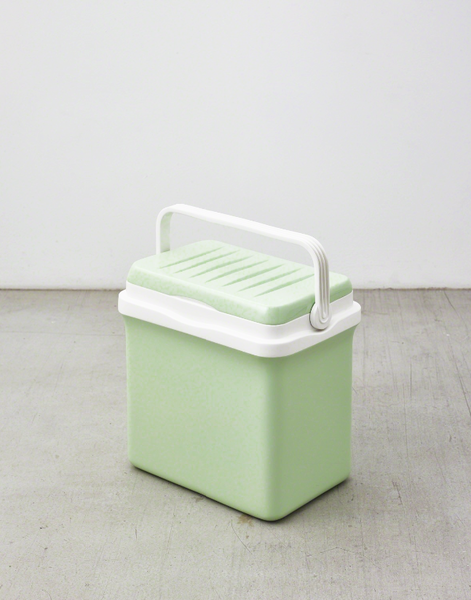 Elmgreen & Dragset Cooling Box (Pastel Green and Traffic White), 2015