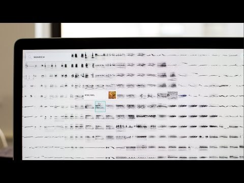 Oops. Since this experiment loads over 14,000 bird sounds, you'll need to view it on a desktop computer.