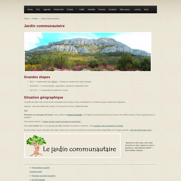 Jardin communautaire | CCL