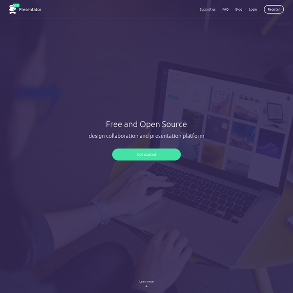 Presentator is a free and Open Source web platform for design presentation and collaboraion.