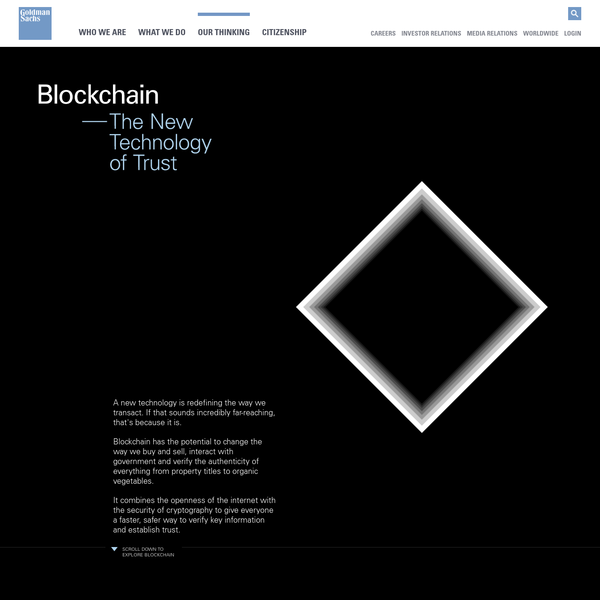 Beyond just Bitcoin, learn how blockchain technology is transforming how we interact with the world with our immersive infographic: