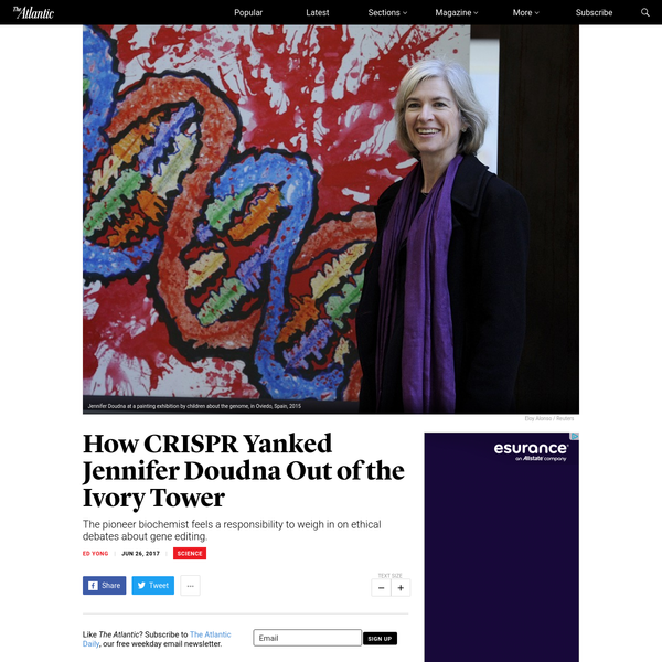 How CRISPR Yanked Jennifer Doudna Out of the Ivory Tower