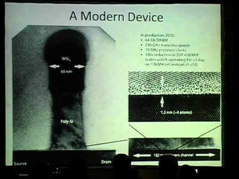 Talk in HOPE09, NYC Modern computer chips are using transistors with features as small as 22nm. They are produced in factories that are 10,000 times cleaner than an operating room that can think like Skynet. Combined, the chips they produce run everything from your cell phone to the Internet itself.