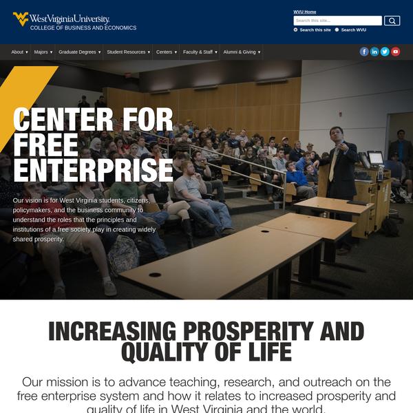 Business and Economics   Center for Free Enterprise