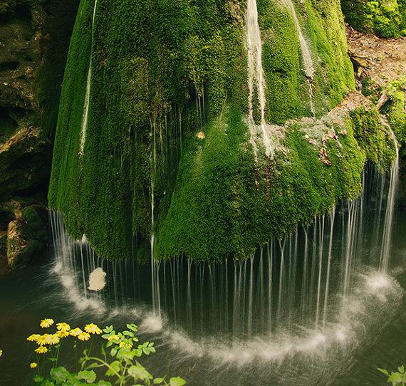 Bigăr waterfall, Romania.