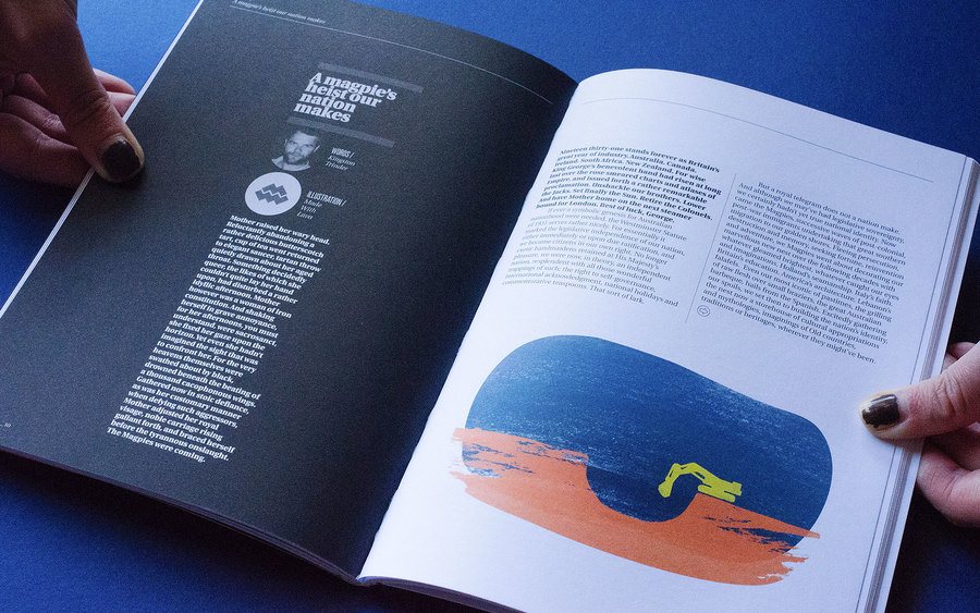 Collect was an Adelaide-based publication that ran from 2010 to 2013 centred on 'design, ideas, and neighbourhoods'. I contributed illustrations to several issues during its run in collaboration with Chris Martin.