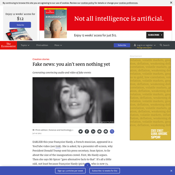 Fake news: you ain't seen nothing yet