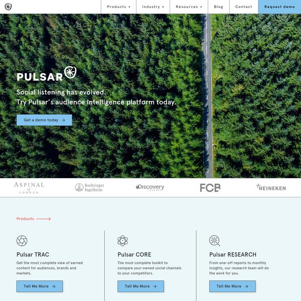 Home - Pulsar Platform