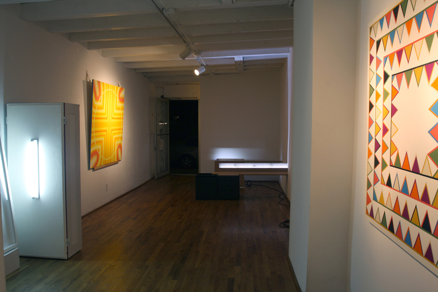 Group installation view