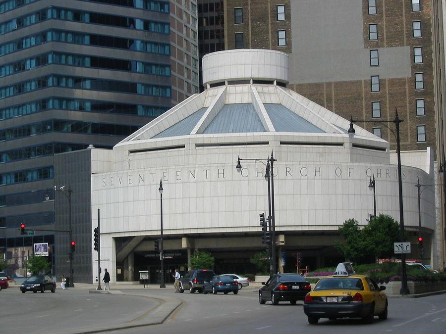 Seventeenth Church of Christ, Scientist, 1968  https://en.wikipedia.org/wiki/Seventeenth_Church_of_Christ%2C_Scientist