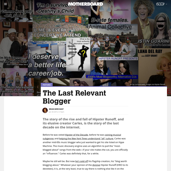 The Last Relevant Blogger