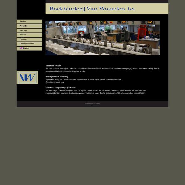 Boekbinderij Van Waarden, Zandaam