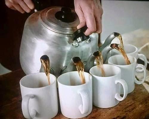 teapot with multiple spouts