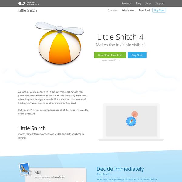 Little Snitch 4