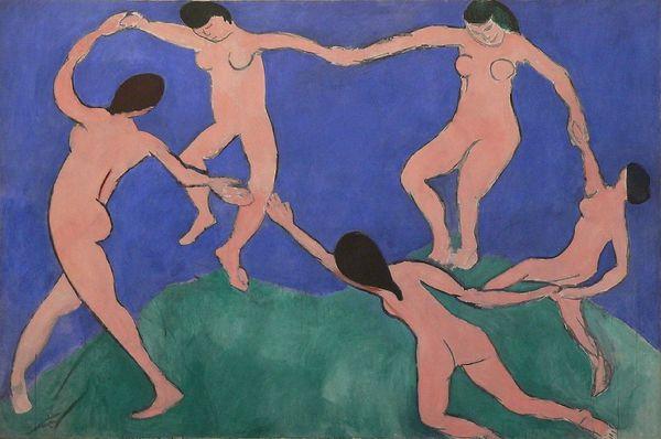 Matisse Dance, blob line