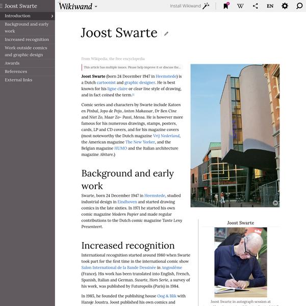 Joost Swarte   Wikiwand