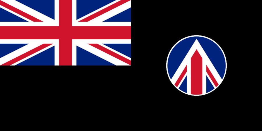 UK Space Agency Flag