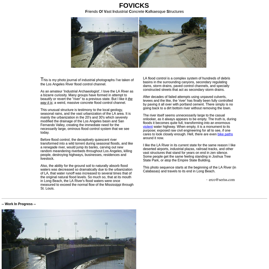 Photos of the Los Angeles River