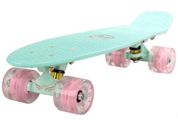 Lmai 22'' Fade Blue Board Skateboard Product Details: * Upscale High Quality Plastic Deck, freshly painted. * 3.25 Inch LMAI painted Trucks, using best quality available. * 59mm 83A LMAI wheel and very smooth ride with great gripping power, very durable and first class.