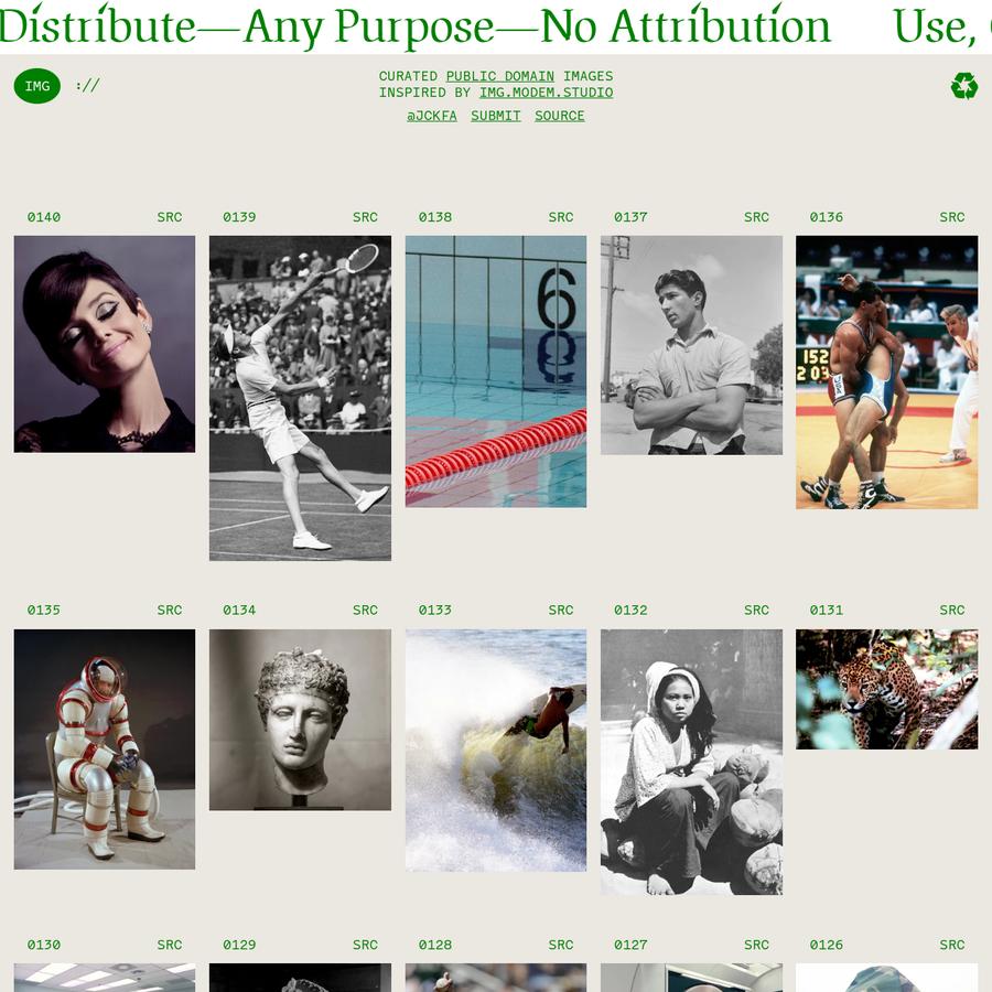 Public domain images for graphic designers