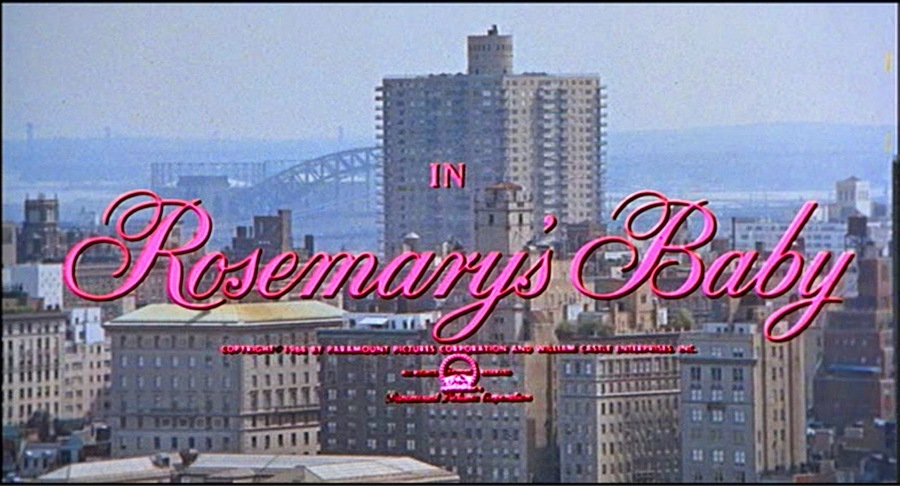 Rosemary's Baby, Title Card