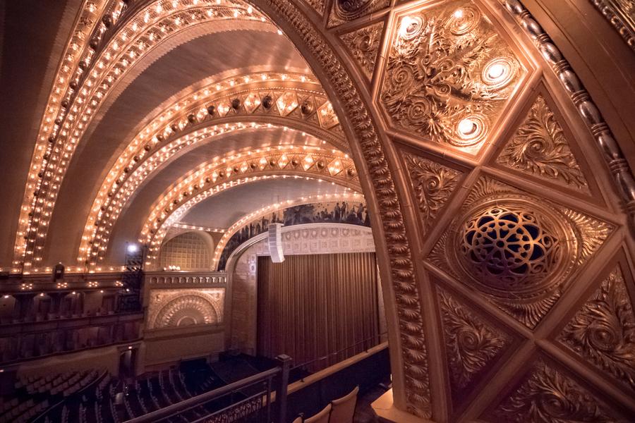 Auditorium Theatre, Louis Sullivan & Dankmar Adler, 1889
