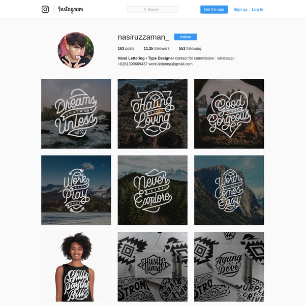 11.2k Followers, 553 Following, 163 Posts - See Instagram photos and videos from Hand Lettering * Type Designer (@nasiruzzaman_)