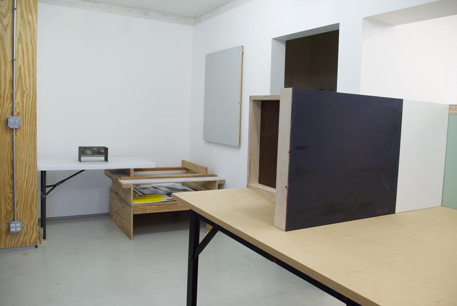 Studio Table Installation