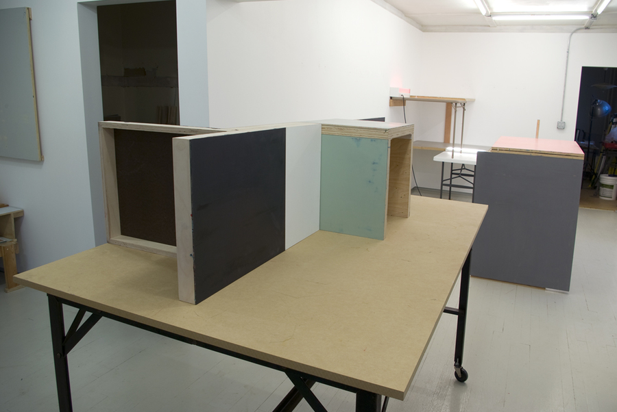Studio Table Installation