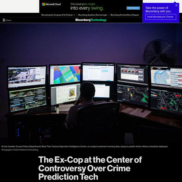 A new company makes AI software in use at a handful of police departments. Can it make law enforcement more transparent? Not everyone is rubbing their hands in anticipation. Many police officers still see so-called predictive policing software as mumbo jumbo. Critics outside of law enforcement argue that it's actively destructive.