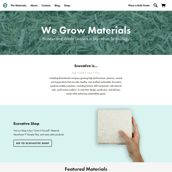 A world leading biomaterials company creating and scaling environmentally-friendly products that are cost and performance competitive with conventional materials.