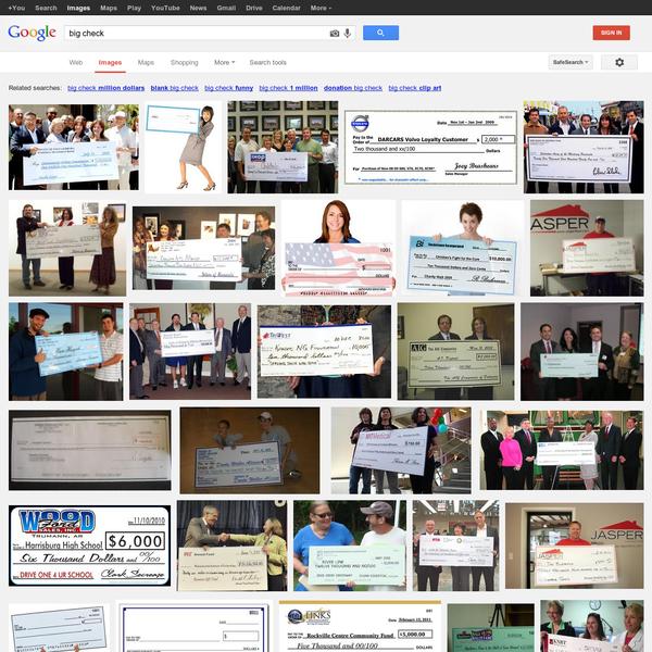 big check - Google Search