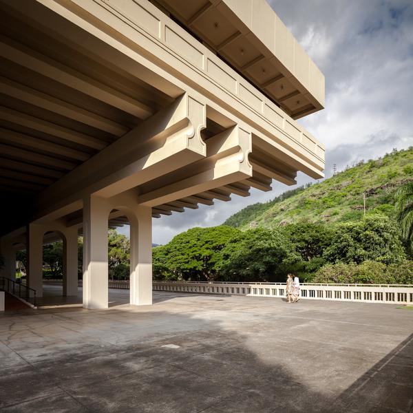 I.M. Pei, Jefferson Hall Conference Center, University of Hawaii (1963)