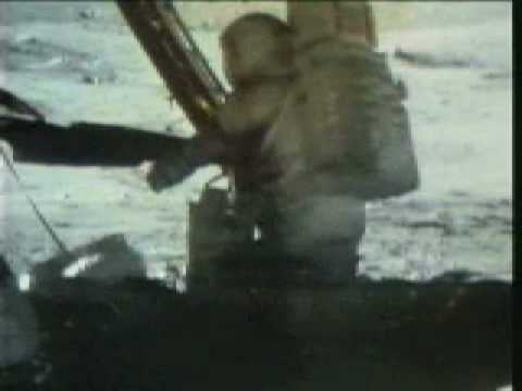 Fan video set to vintage clips of the space program.