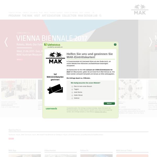 MAK Vienna - MAK Museum Vienna