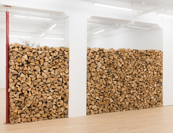 Charles Harlan, Firewood, 2017