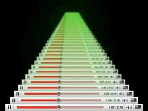 by Martin Kohout, 2008, http://www.martinkohout.com || NOTE: At the time Moonwalk was uploaded the original scroll-bar had been corresponding to the video in whole duration. Since then youtube added new buttons to the interface and changed the format from 4:3 to 16:9.
