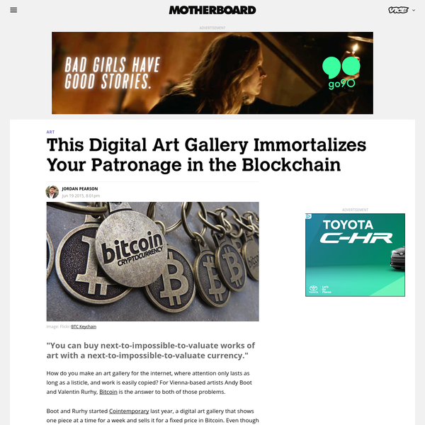This Digital Art Gallery Immortalizes Your Patronage in the Blockchain