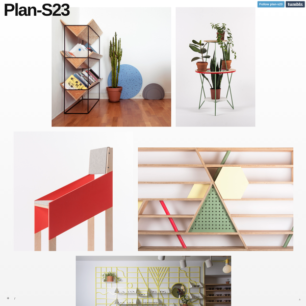 Plan-S23 is a design studio run by Maxim Scherbakov and Alexey Galkin, Based in St. Petersburg, Russia. Studio mainly works with furniture, product and interior designs....